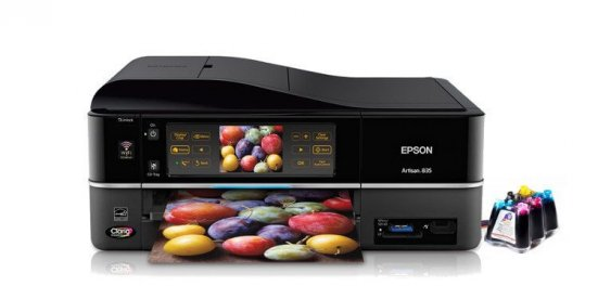 фото МФУ EPSON Artisan 835 Refurbished с СНПЧ