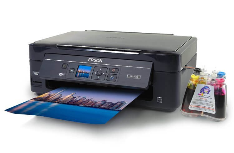 фото МФУ Epson Expression Home XP-320 с СНПЧ