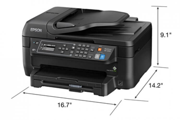 Epson WF-2650 Refurbished с СНПЧ 4