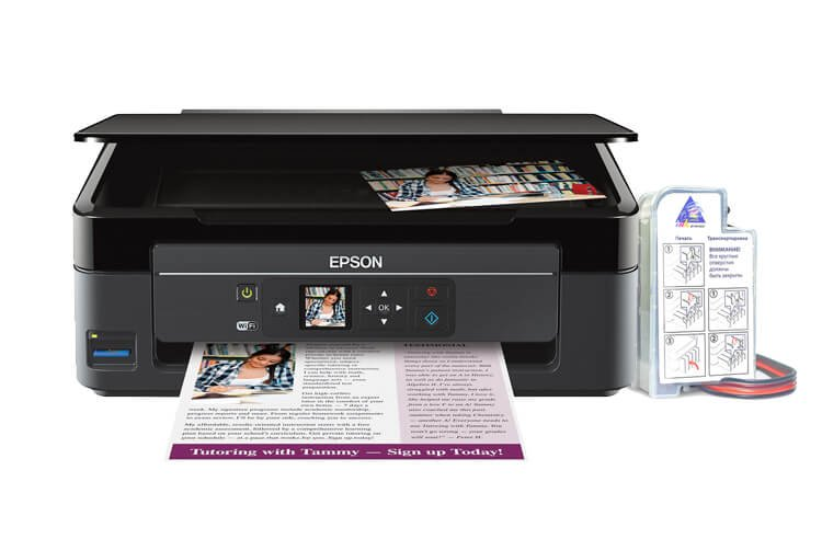 МФУ Epson Expression Home XP-340 с СНПЧ