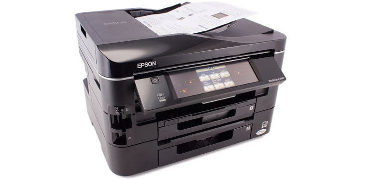 EPSON WorkForce 840 Refurbished с СНПЧ 5