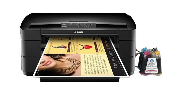 Принтер EPSON WorkForce WF-7010  с СНПЧ