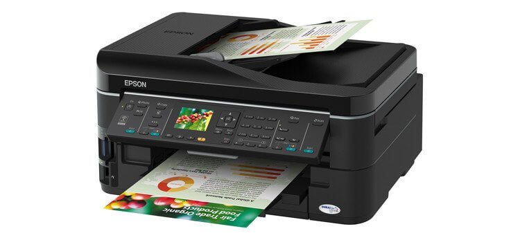EPSON WorkForce 633 Refurbished с СНПЧ 5