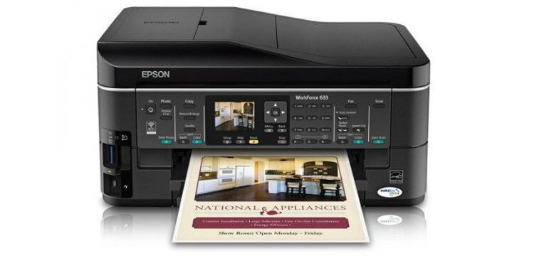 EPSON WorkForce 633 Refurbished с СНПЧ 1