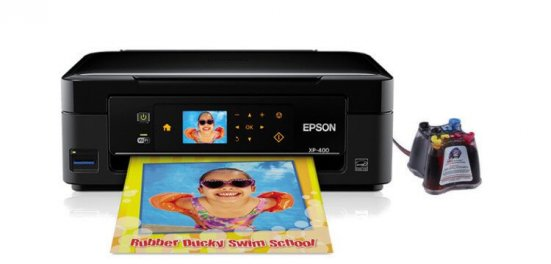 фото МФУ EPSON Expression Home XP-400 с СНПЧ