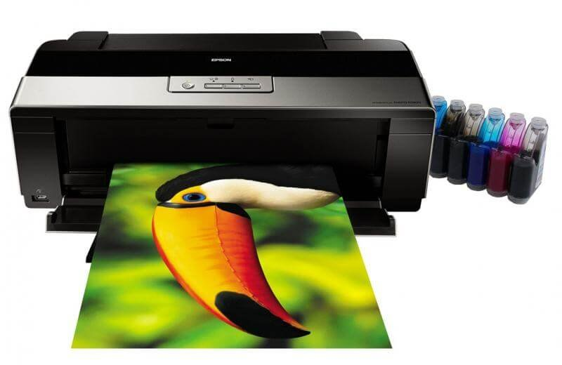 Открытка распечатанная через цветной принтер
