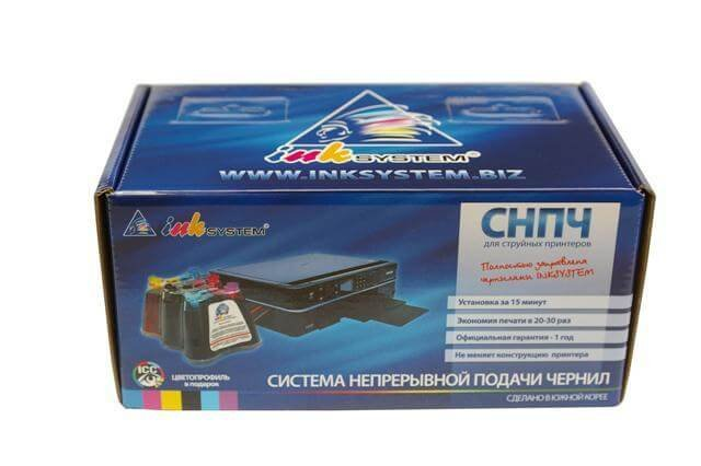 СНПЧ BROTHER DCP 750CN 3