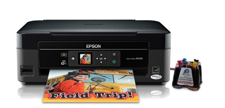 Epson NX330 Refurbished с СНПЧ 5