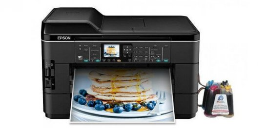фото МФУ Epson WorkForce WF-7520 Refurbished с СНПЧ