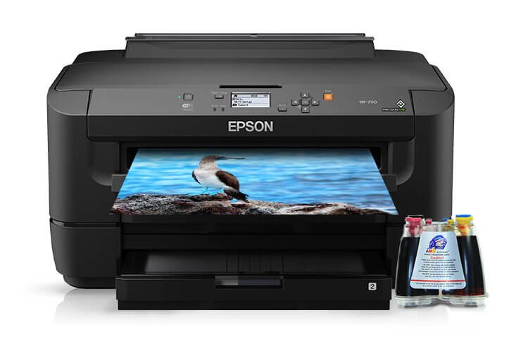 Принтер Epson WorkForce WF-7110DTW с СНПЧ