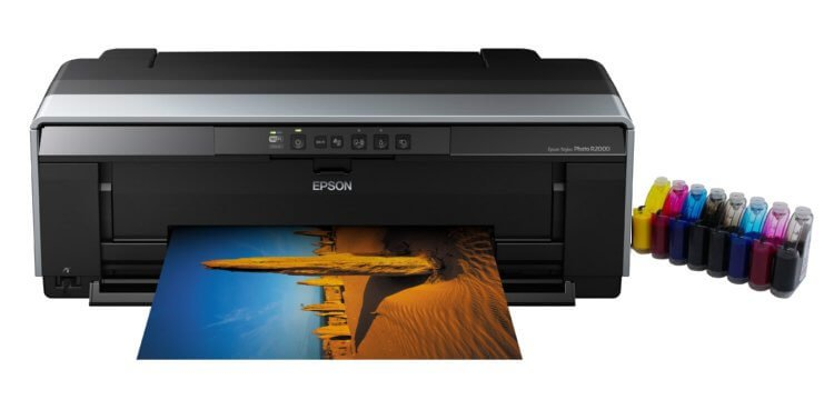 Принтер Epson Stylus Photo R2000 с СНПЧ