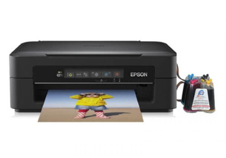 фото МФУ Epson Expression Home XP-212 с СНПЧ