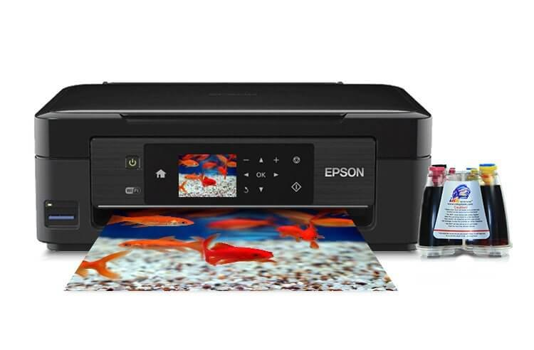 фото МФУ Epson Expression Home XP-422 с СНПЧ